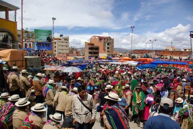 Karneval in Oruro. (Fotos: SMMP/Bock)
