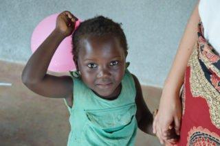 Dolce, ein Mädchen aus dem Turma C des pädagogischen Zentrums. Foto: Johanna Friedrich