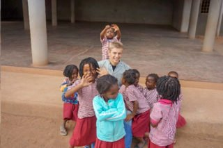 Robert Renner in dem pädagogischen Zentrum in Metarica/Mosambik. Foto: privat.